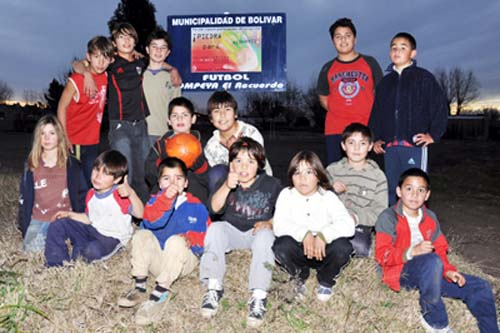 F�tbol barrial en Pompeya
