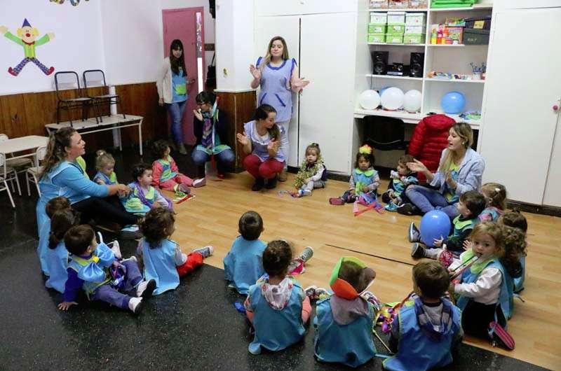 El jard n maternal alicia moreau de justo festej su for Jardin maternal unsl 2015